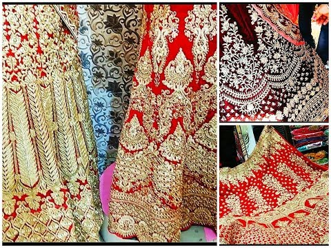 wholesale lehenga shops in chandni chowk | Cheapest lehanga market in delhi