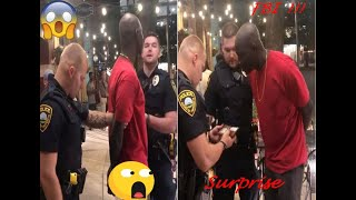 """Black FBI Agent Arrested by white police """"he's the wrong guy sorry"""" !!"""