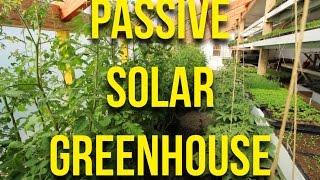 My New Passive Solar Greenhouse