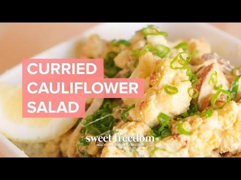 Colorful Roasted Cauliflower Salad