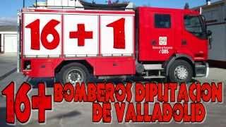 16 + Bomberos Diputación de Valladolid...