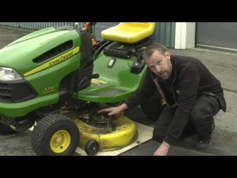 Välkända Plocka loss rem till gräsklippare - YouTube QU-02