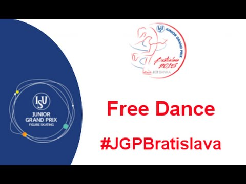 2015 ISU Junior Grand Prix Bratislava Free Dance