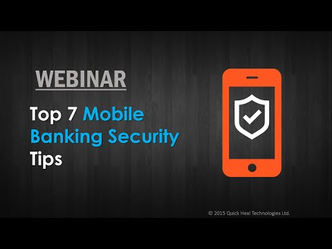 Top 7 Mobile Banking Security Tips
