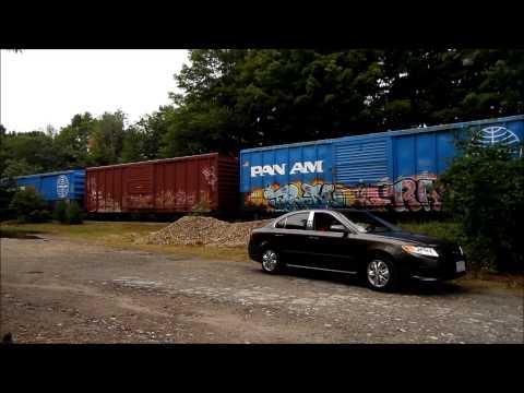 Train in West Boylston, Ma.