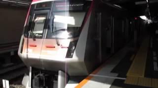 東急6000系6106F7両編成自由が丘駅発車