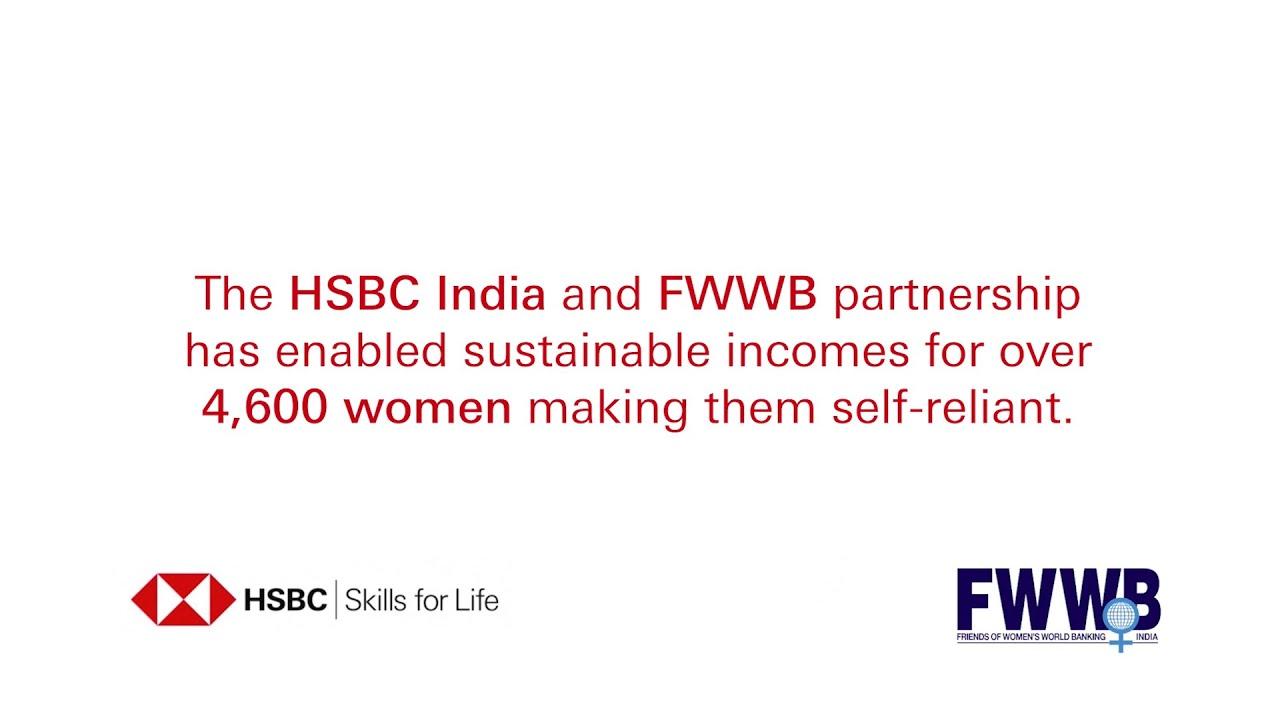 Transforming lives of women in Manipur - an HSBC & FWWB partnership.