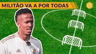 MILITAO AFINA PUNTERÍA PARA EL CLÁSICO · Real Madrid