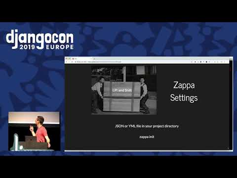 Image from Serverless Django with Zappa