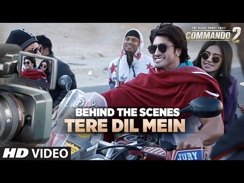 Making of Tere Dil Mein Song | Commando 2 | Vidyut Jammwal