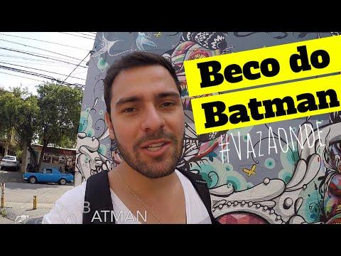 Beco do Batman - Batman's Alley - São Paulo
