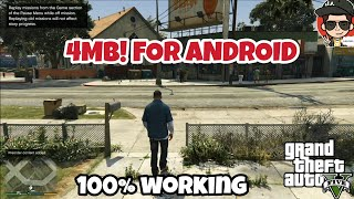 (only 4mb)how to download gta 5 for android in just 4mb ||