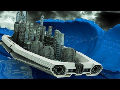 Minecraft | CREATE YOUR OWN BOAT & SHIP MOD Showcase! (Boat Mod, Speed Boat, Battleship)