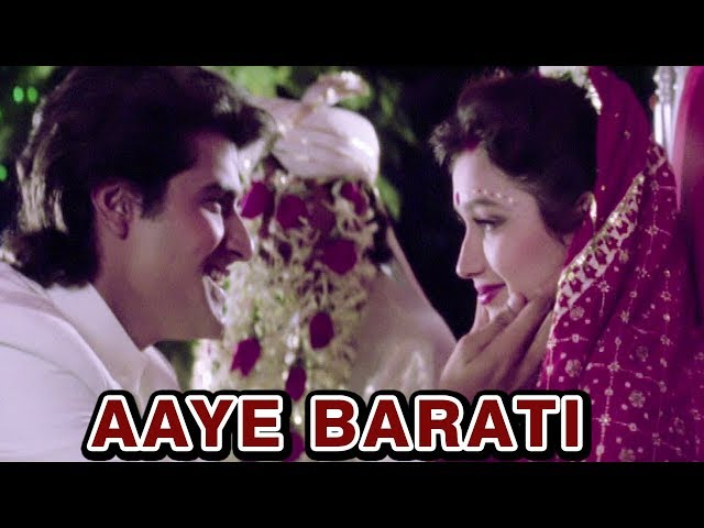 Aaye Barati | Bollywood Wedding Songs | Kumar Sanu | Armaan Kohli | Anaam (1992)