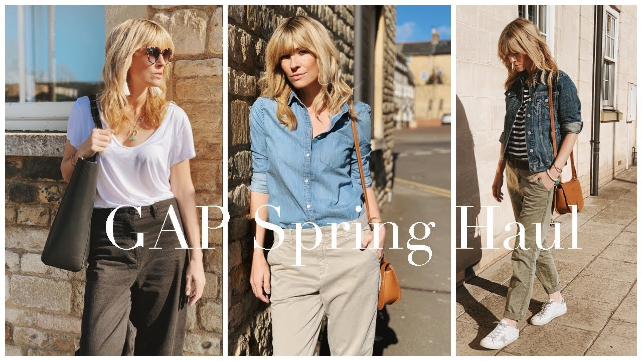 [VIDEO] - Spring Haul & try on 2019   Khaki trend at Gap 5