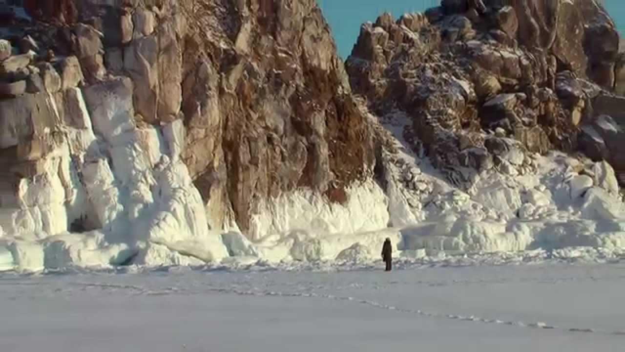 Байкал зимой.