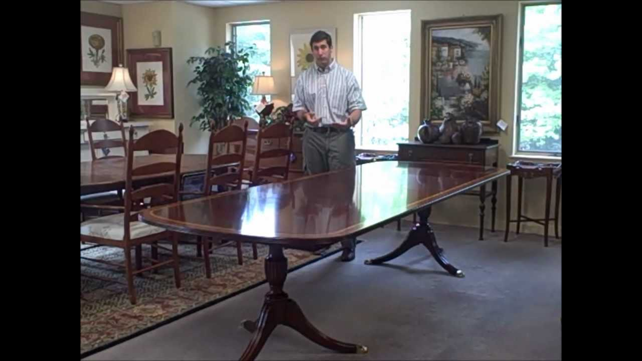 Henkel harris pedestal table piece of the week 051712 youtube dzzzfo