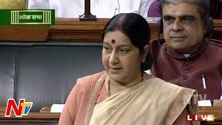 Sushma Swaraj Addresses Lok Sabha On Lalit Modi Controversy | Parliament Session | LIVE