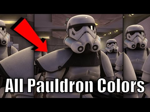 All Stormtrooper Pauldron Colors and Their Meanings (Canon)