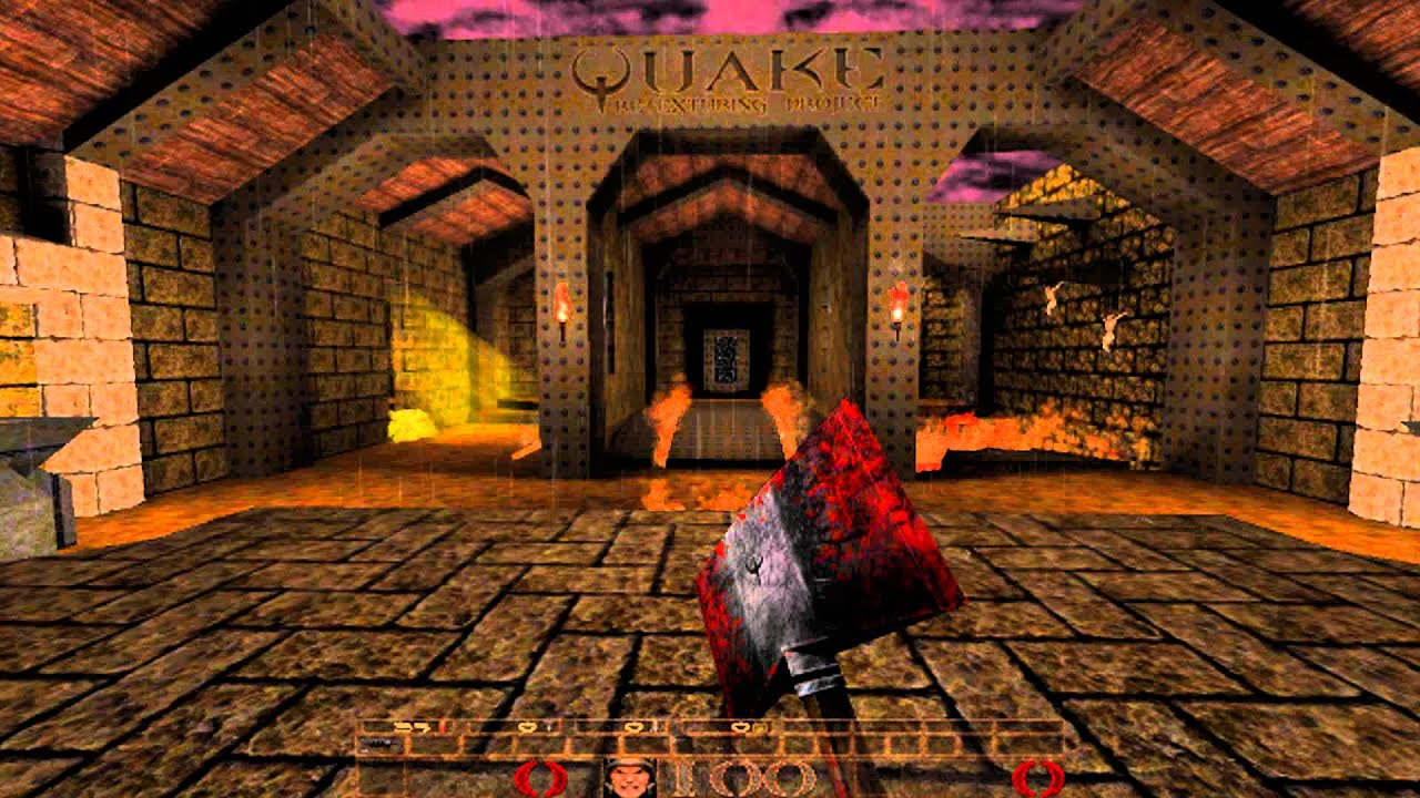 Doom Wallpaper Hd Quake Hd Remastered Before And After Comparrison Youtube