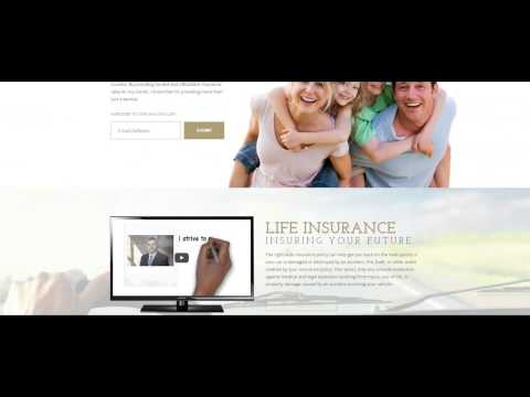 Insurance Company Web Design Project by Overflow Local | Appleton Wisconsin