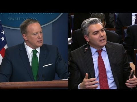 Spicer spars with CNN over wiretapping claim