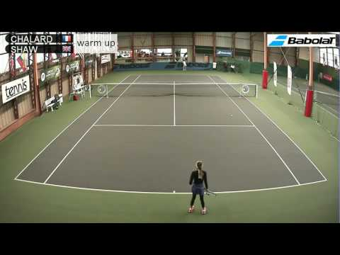CHALARD (FRA) vs SHAW (GBR) - Open Super 12 Auray Tennis - Court 2