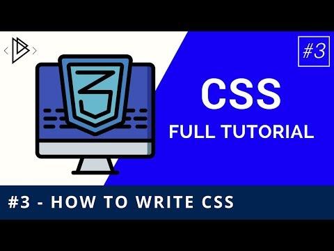 #3 - CSS Syntax - CSS Full Tutorial thumbnail
