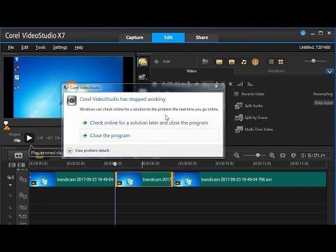 Cara Mengatasi Corel VideoStudio Has Stopped Working
