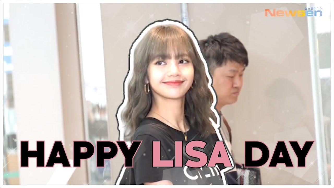 블랙핑크 리사, 'HAPPY BIRTHDAY LISA OF BLACKPINK' MAR 27 #HAPPYLISADAY [NewsenTV]