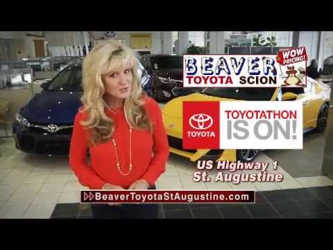 Attractive Toyotathon | Camrys $199/mo | Beaver Toyota St. Augustine | November 2014    YouTube