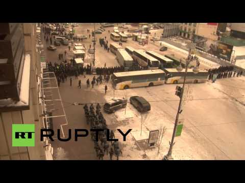 Ukraine: Troops re-group en mass across Kiev