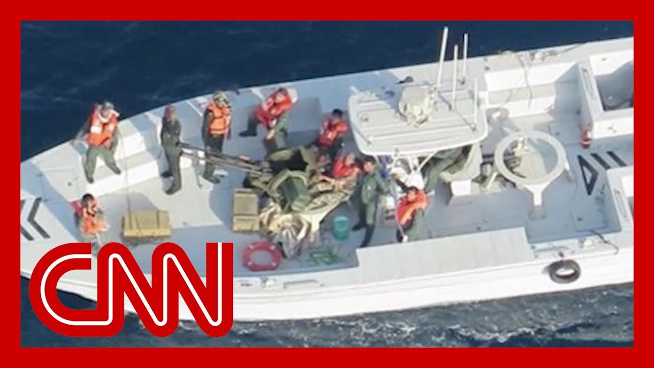 CNN:Pentagon releases images supporting claim Iran behind tanker attacks