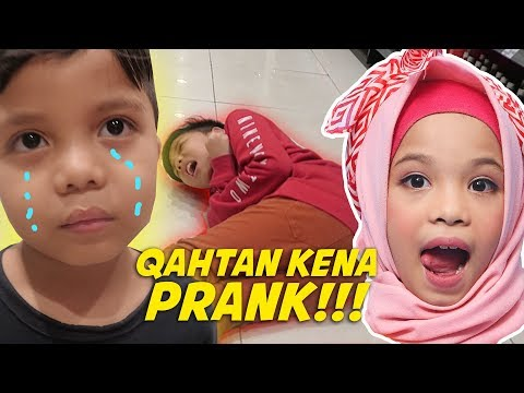 Baby Qahtan Marah DiPrank Sampe Gigit Bang Muntaz!! :D
