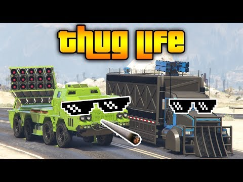 GTA 5 ONLINE : THUG LIFE AND FUNNY MOMENTS...
