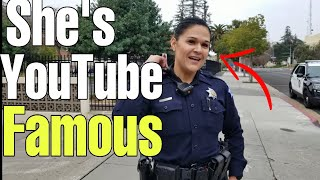 Fresno's corrupt cops do the Walk of shame part 1 TCCW 1st amendment audit