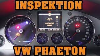 VW PHAETON 🛠 INSPEKTION UND MOTORSPÜLUNG 🛠 #VW #DPF #MRDOIT #DORTMUND