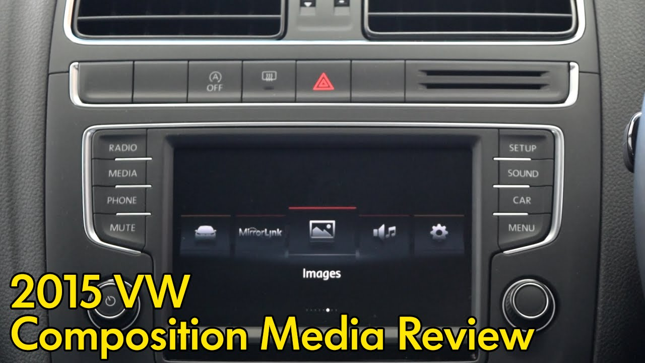 Volkswagen Composition Media System Review YouTube
