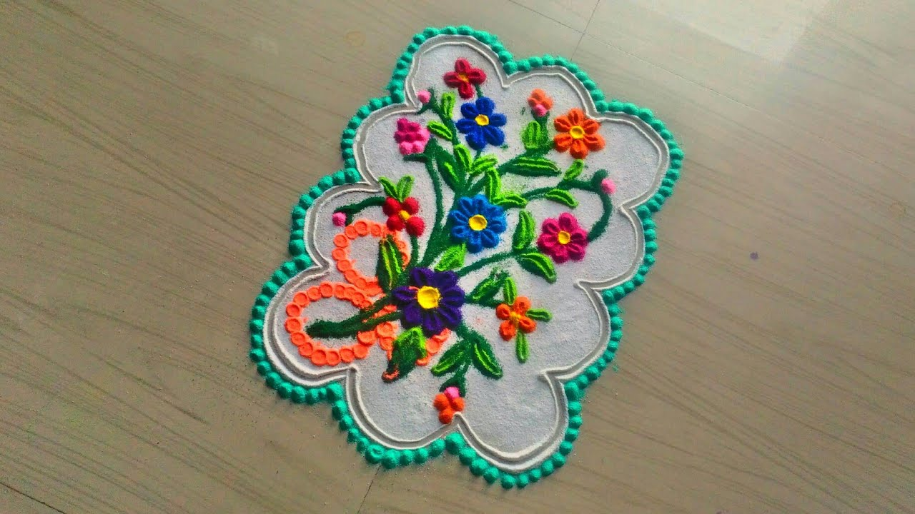 Beautiful rangoli designs for christmas