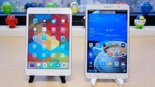 Galaxy Tab Pro 8.4 vs iPad mini with Retina display