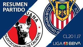 Resumen | Xolos vs Chivas | Jornada 7 - CL 2020 | Liga BBVA MX