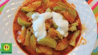 Цукини или кабачок с мятой Короткий видео рецепт How we cook Naneli kabak yemegi
