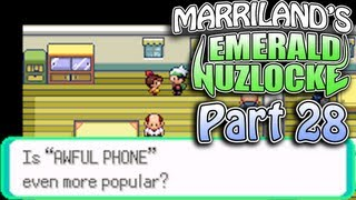 Pokemon Emerald Nuzlocke, Part 28: The Awful Phone Rings!