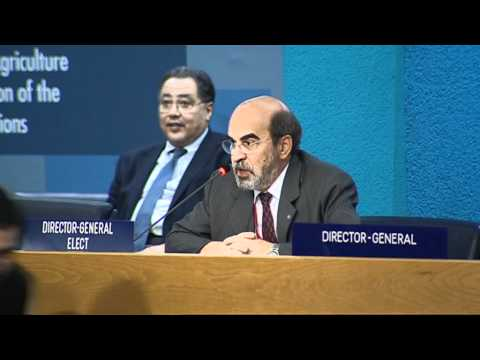 José Graziano da Silva of Brazil elected FAO Director-General