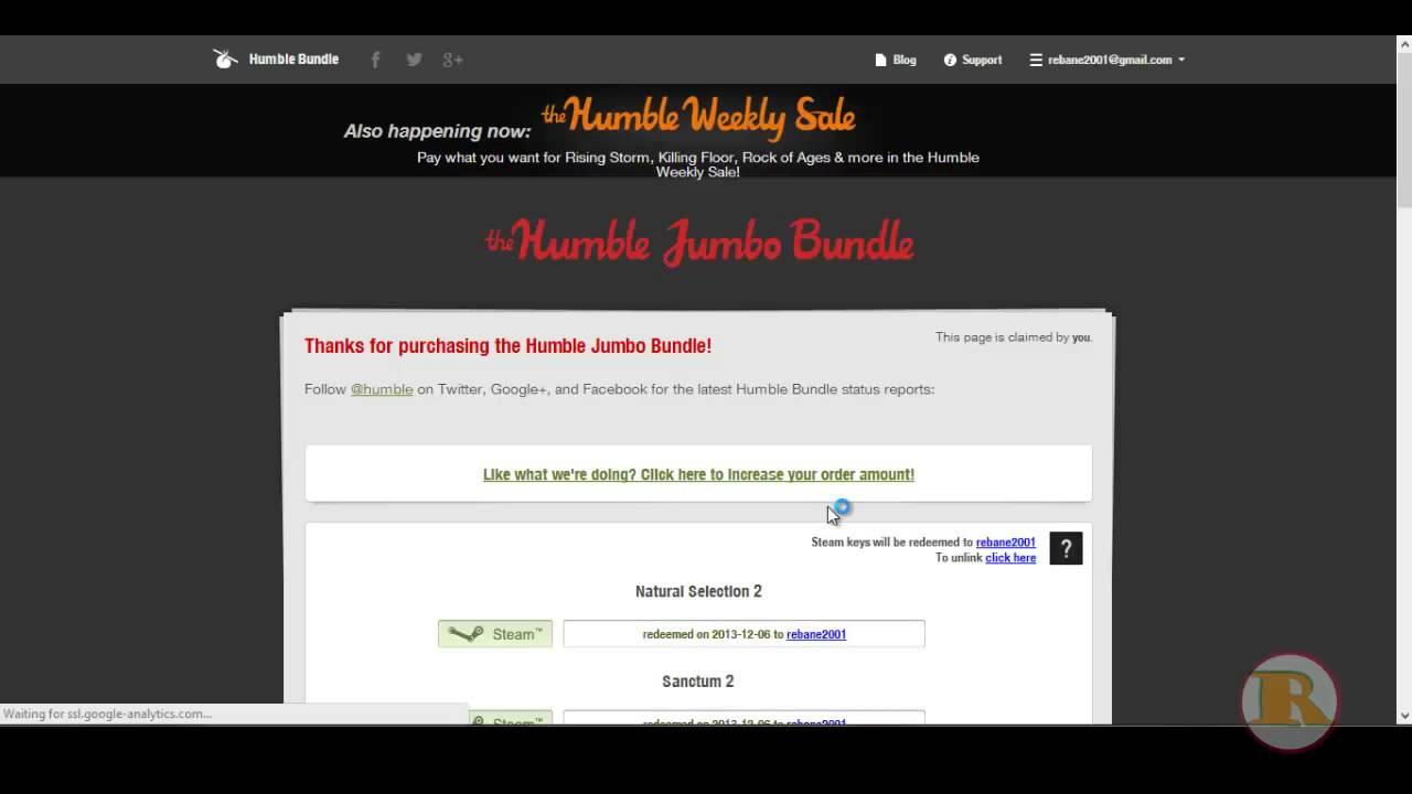 How to use humblebundle gifts/Kuidas kasutada humblebundle gifte ...