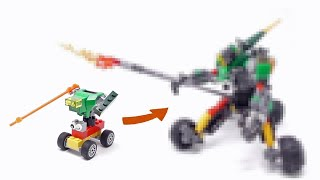 Gambar cover LEGO - My Son's Mech Upgrade Part2 - 2000 Subs Special - Stop Motion Build