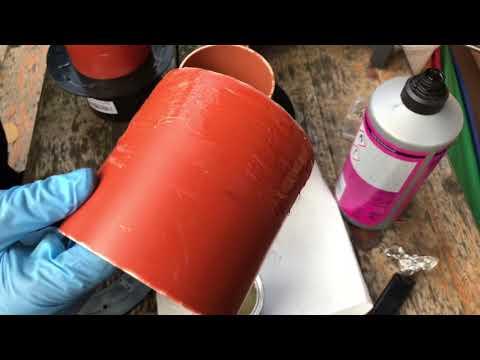 Einbau von PVC
