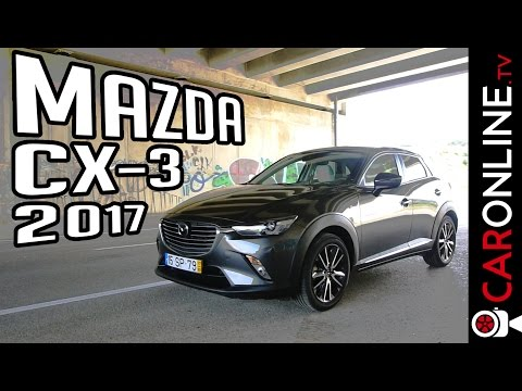 4 FACTOS sobre o novo MAZDA CX-3 2017 [Portugal Review]