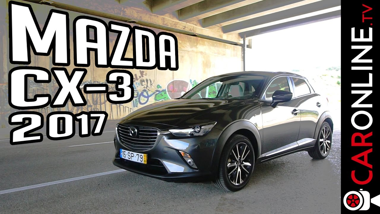 4 factos sobre o novo mazda cx 3 2017 portugal review youtube. Black Bedroom Furniture Sets. Home Design Ideas