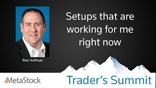 Trading Setups That Are Working For Me Right Now- Rob Hoffman